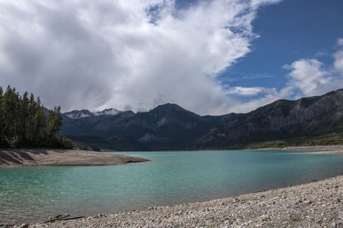 Barrier Lake - Picture of Barrier Lake by Nadine Levin Photography