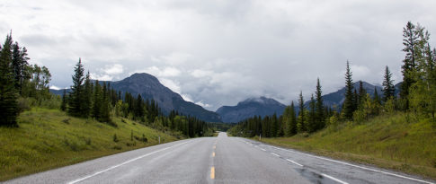 Landscape Picture of On The Highway by Nadine Levin Photography