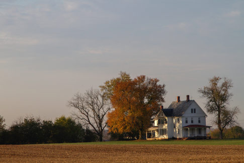 Landscape Picture of The House Around The Corner by Nadine Levin Photography